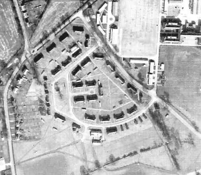 The married quarters as they were in 1946