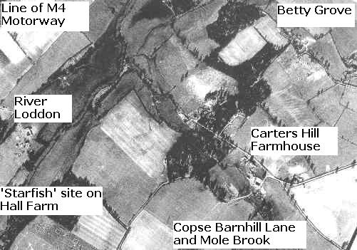 Carters Hill Farm as it was in 1944