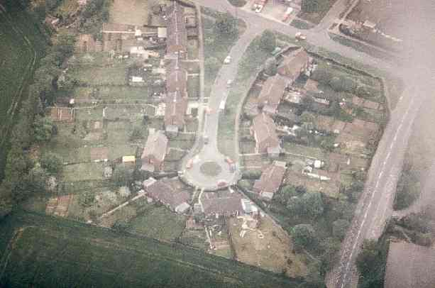 Emblen Crescent from the air, 1985