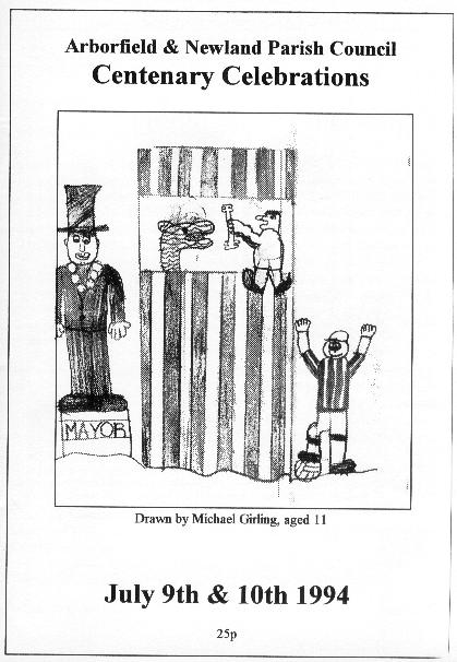 Front cover, with drawing by Michael Girling of the Junior School