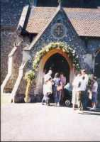 The Church Porch from outside