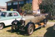 Bull-nose Morris and Ford 100E