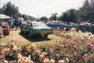 Alan Bendall's Cortina - Alan organised the Motoring Festival