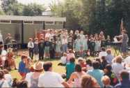 A choir from the Junior School
