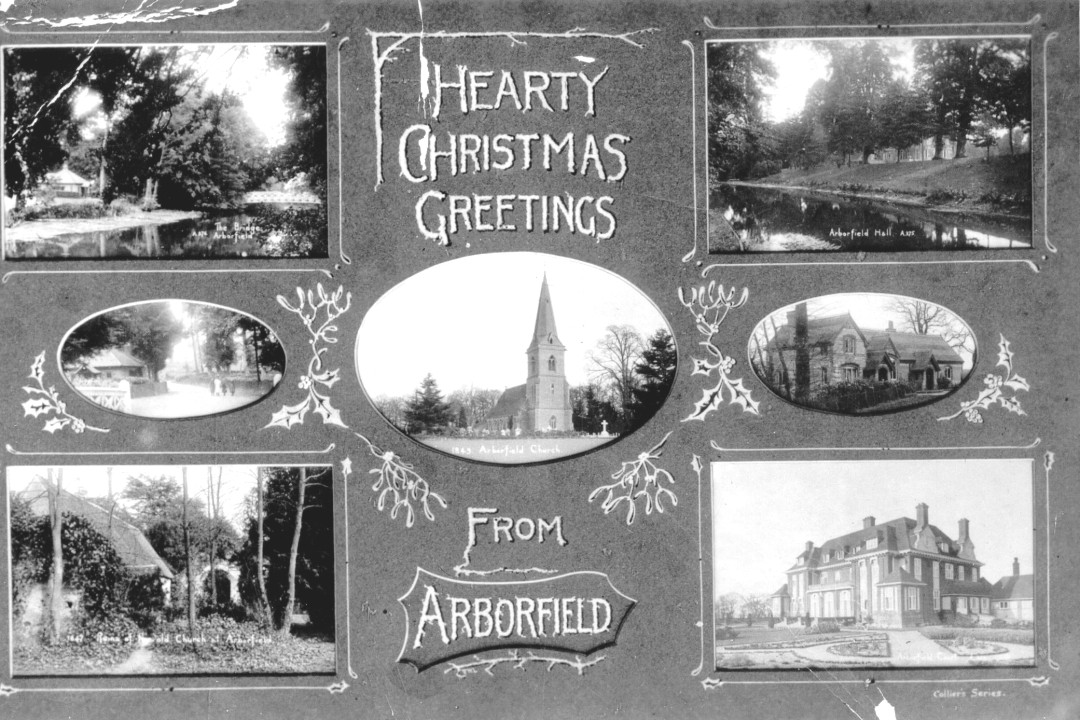 Christmas greetings from Arborfield