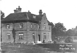 The Moat House, built for the Remount Depot in 1906, has survived to the 21st Century