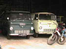 Ford Thames vans from the 1950's