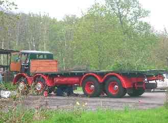 A Foden 4-axle lorry, on May 6th 2006