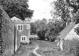 The old Mill from the estate road, from the 1919 Sale catalogue.