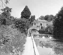 The mill as it was in the 1950s