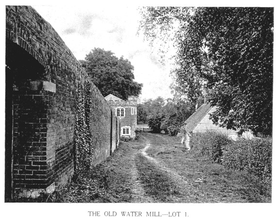 The Old Water Mill - Lot 1