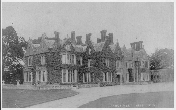 Arborfield Hall, early 1900's