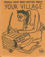One of the 'Your Village' covers prepared by then Parish Clerk Martin Shearn