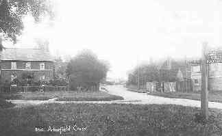 The A327 looking southwards towards the Swan; not much had changed in the years since this photo was taken