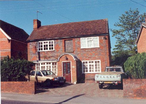 Mileham Cottage, opposite the Old Post Office on Eversley Road