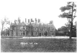 Arborfield Hall from the front
