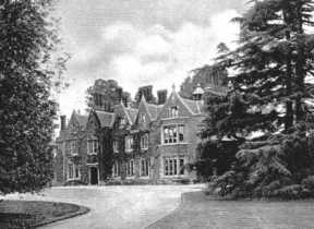 Arborfield Hall, from the 1919 Auction Sales catalogue