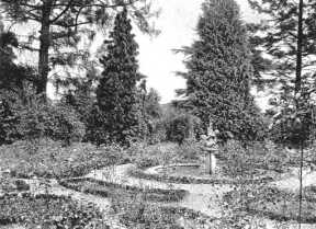 The Rose Garden at Arborfield Hall, from the 1919 Auction Sales catalogue