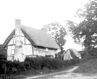 Woodbine Cottage, off Swallowfield Road, home to Stephen Emblen.