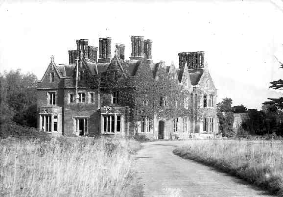 Arborfield Hall in 1955