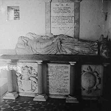 Standen Tomb, in the old Hargreaves Chapel