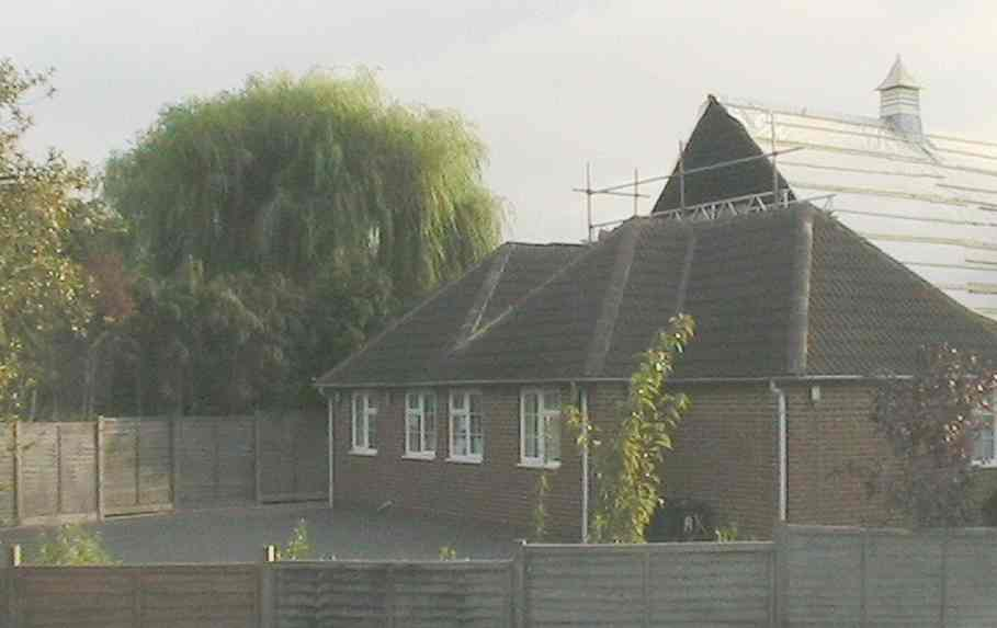The rear extension, as seen from Brant Close, August 2008