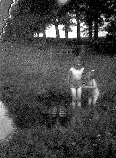 Paddling in the brook, 1941