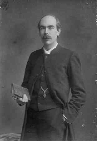 Rev. Joshua Anderson in 1898, when he became Rector of Arborfield