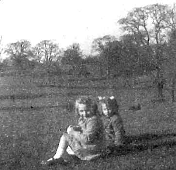 In the field opposite Brook Cottage, 1941