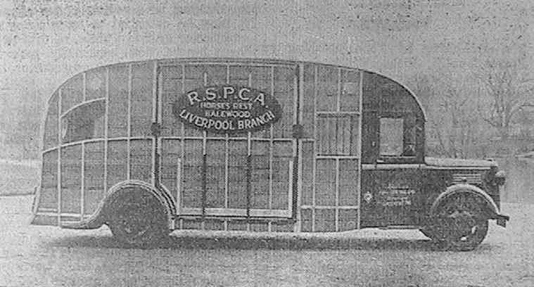 Vincent's Horse Box from 1937