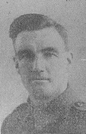 Private W. A. Mearing, who died of his wounds